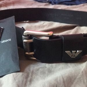 Kids Armani Exchange belt
